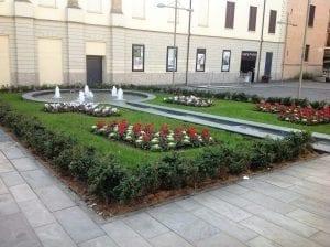 Giardino realizzato da Verbena